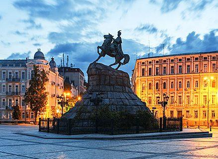 Khmelnytsky Monument, Kiev
