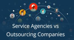 Service Agencies vs Outsourcing Companies: Basic Differences and Benefits