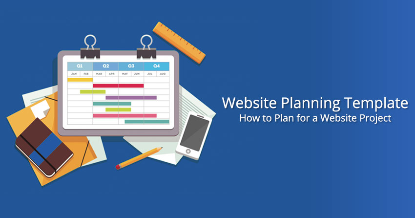 Free Website Planning Template